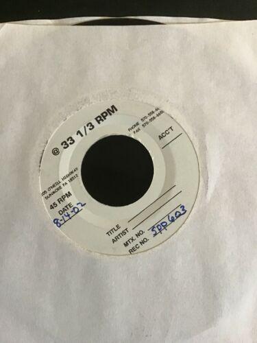 Mudhoney Sonic Infusion White Label Rare Test Pressing Sub Pop 7    Punk Grunge