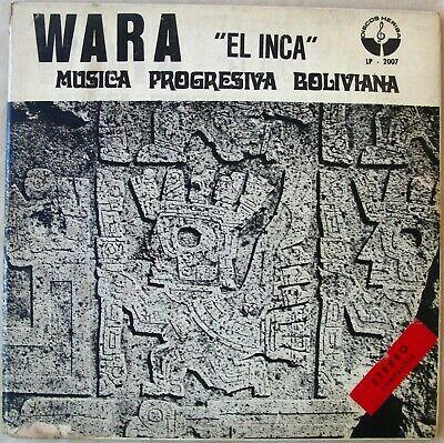 WARA LP El Inca BOLIVIA 1973 M sica Progresiva Boliviana POKORA