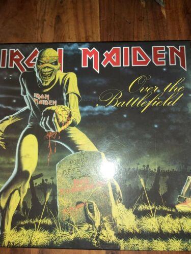 Iron Maiden Over The Battlefield 3lp boxset
