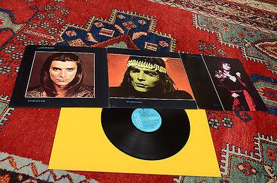 RENATO ZERO LP NO MAMMA NO 1     ST ORIG 1973 COP APRIBILE IN 3 PARTI E DEEP GROOVE