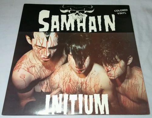 RARE PUNK DEATH METAL LP SAMHAIN  INITIUM  PLAN 9 PL9 04 RED VINYL 1 500 DANZIG