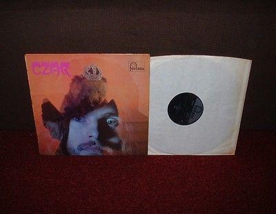 CZAR 1st LP 1970 FONTANA 1st Press  1 1   MINT     AMAZING PSYCH PROG RARITY