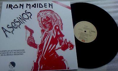 Iron Maiden                 Killers  Asesinos  Mega Rare 12  Promo LP 1981 EMI
