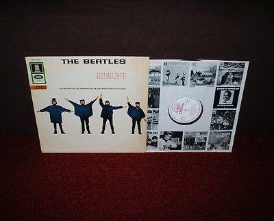 BEATLES Help LP 1965 GERMAN ODEON 1st Press EXPORT ONLY EARLIEST EVER