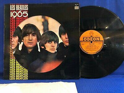 THE BEATLES 1965 OSX 228 AVEC INSERT ORIGINAL FRANCE LP EXC