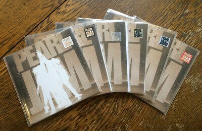 Pearl Jam Ten box set sampler promotional 7  45 set limited Rare  Colored vinyl