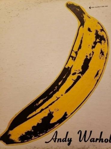 The Velvet Underground  Nico Original Vinyl LP Andy Warhol Banana Sticker