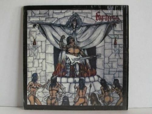 FORTRESS Self Titled LP Original 1985 US Havoc PRIVATE PRESS METAL in Shrink