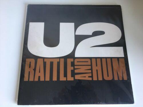 U2 RATTLE AND HUM SPAIN GATEFOLD PROMO PACK W  2 LP VINYL SHEETS FOLDER RARE