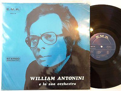 WILLIAM ANTONINI LP 1971 Killer JAZZ FUNK Freakbeat PROG  Blues ITALIAN LIBRARY