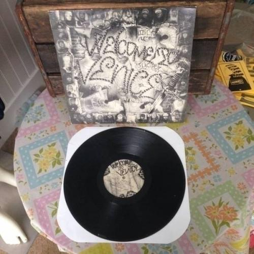 Welcome To Venice LP Comp RARE 1985 VINYL Suicidal Tendencies Beowulf Excel Punk