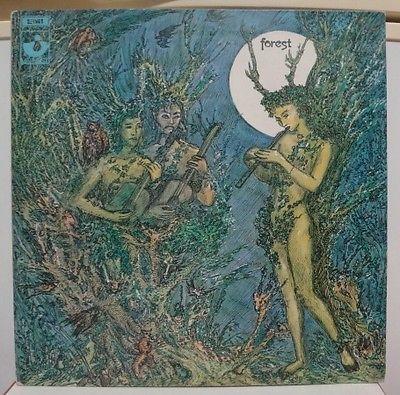 FOREST   SAME  RARE 1ST PRESS UK ORIGINAL HARVEST LP  SHVL 760 PROG PSYCH