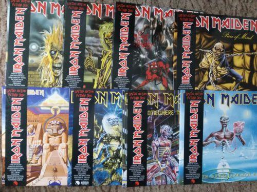 Iron Maiden   8 x Picture Vinyl LP