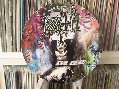 Death   Evil Dead Rare Death Metal 12  Picture Disc Promo Scream Bloody Gore LP