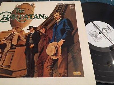 THE CHARLATANS   Original 1969 Promo Pressing Psych LP