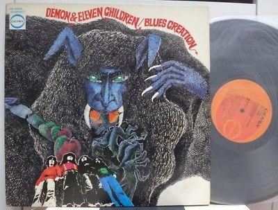 BLUES CREATION   DEMON   ELEVEN CHILDREN  RARE JAPAN ORIG  1ST PRESS LP POKORA