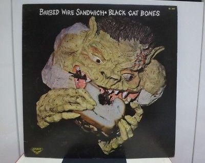 BLACK CAT BONES   BARBED WIRE SANDWICH  RARE JAPAN ORIG  LP PSYCH BLUES NM