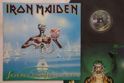 LP IRON MAIDEN Seventh Son Of A Seventh Son RP285610 EMI JAPAN Vinyl PROMO