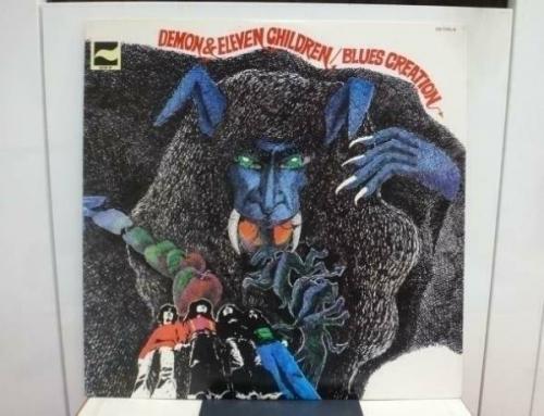 BLUES CREATION   DEMON   ELEVEN CHILDREN  RARE JAPAN ORIG  LP PSYCH BLUES NM
