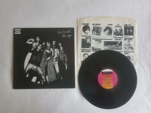 Alice Cooper   Love It To Death 12  Vinyl LP  1st UK press 1971  STS 1065  A1 B1