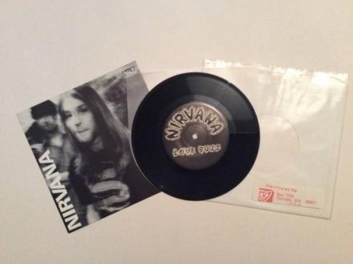 Nirvana Love Buzz limited numbered original 7  Vinyl single grunge  283 1000