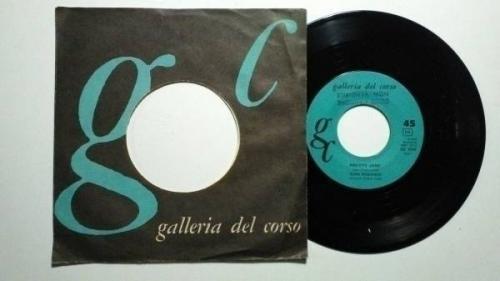 MARK ROBINSON  PRETTY JANE  7  GC ITALY GREAT ROCKABILLY ROCK N ROLL