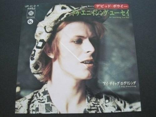 DAVID BOWIE JAPAN 7inch PYE LABEL