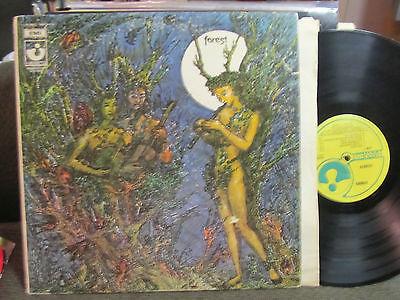 MEGA Rare PROG FOLK PSYCH UK HARVEST 1969 FOREST S T 1st gate acid archive LP