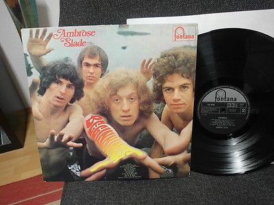 Ambrose Slade   Beginnings Mint UK 1st PRESS 1969 Rare Prog Psych LP