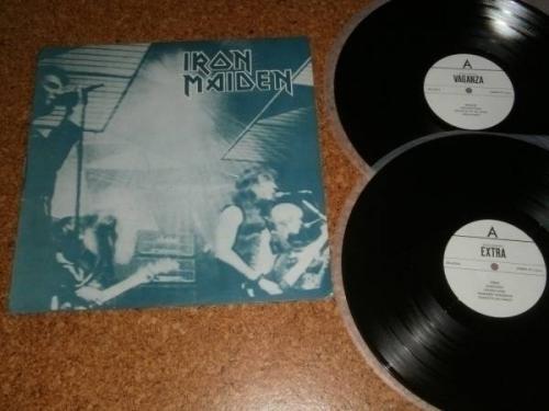 Iron Maiden         Killers  81 2  LP vinyl