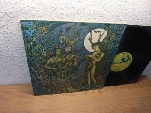 MEGA Rare PROG UK HARVEST 1969 FOREST SAME LP PSYCH FOLK