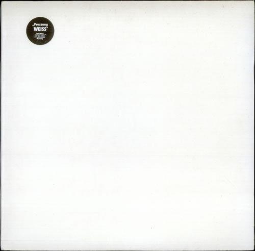THE BEATLES White Album   RARE 1970s German Direct Metal Master 2xLP WHITE VINYL