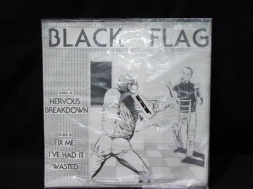 BLACK FLAG  Nervous Breakdown 7     Rare First Pressing SST 001