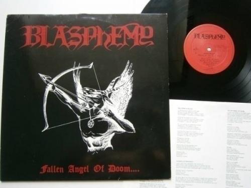 LP Blasphemy   Fallen Angel of Doom     1 Press  90   Black Metal