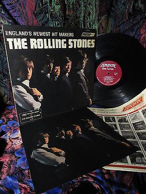 LP   PHOTO 1964  MONO    ROLLING STONES 1st   RAW R B BLUES GARAGE BEAT Beatles