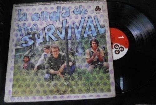 THE SURVIVAL LA ONDA DE  MEXICAN 1971 ORIGINAL LP  BLUES   ACID PSYCH  VERY RARE