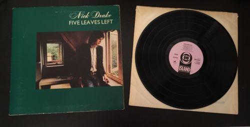 NICK DRAKE   FIVE LEAVES LEFT Original UK 1969 1ST Press LP