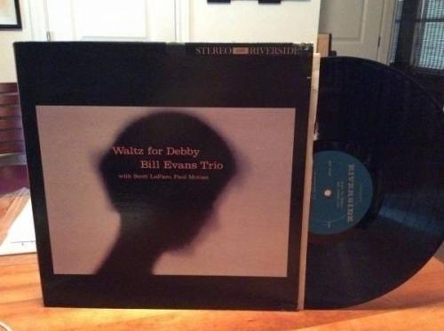 BILL EVANS TRIO  Waltz For Debbie  Riverside Records  OOP Jazz LP