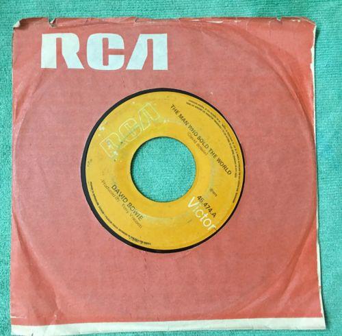 DAVID BOWIE RARE VENEZUELA 7     RCA 1973 THE MAN WHO SOLD THE WORLD   NIRVANA