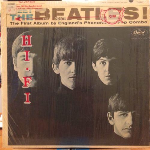 THE BEATLES Meet The Beatles LP CAPITOL T2047 orig 1st US press mono VG