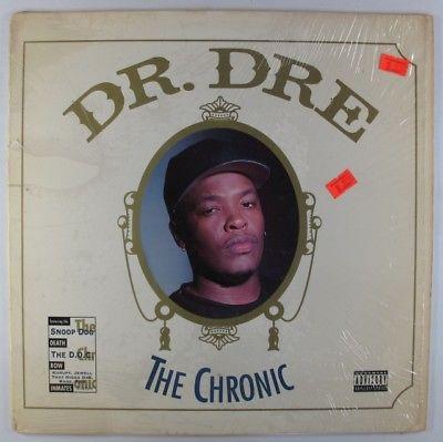 Dr  Dre   The Chronic LP   Interscope Death Row Shrink