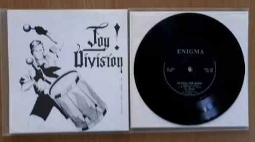 JOY DIVISION   An Ideal for Living E P  ORG 1978 7  Vinyl  UK ENIGMA Label  PUNK