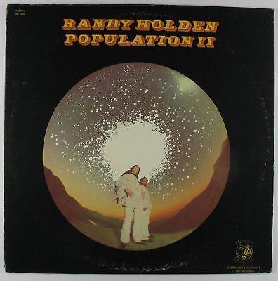Randy Holden  Population II LP  Hobbit  Hard Rock Psych VG