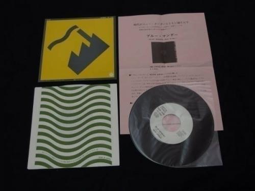 New Order  Blue Monday Japan Promo Only 7 Vinyl wInsert TD1098