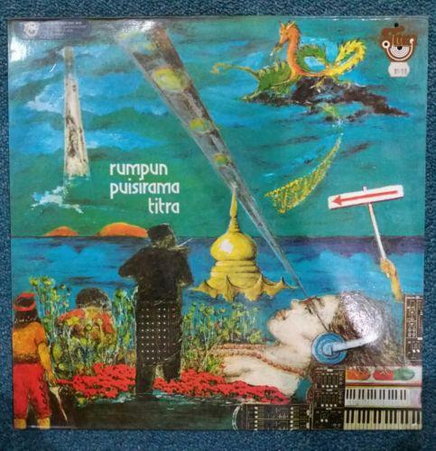 RARE TITRA MALAY PSYCH PROG ART ROCK SYNTH 12  LP NOT EP MOOG 80S MALAYSIA