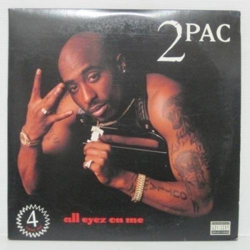 2PAC   ALL EYEZ ON ME 4LP 1996 US ORIG Death Row Dr  DRE SNOOP NOTORIOUS B I G
