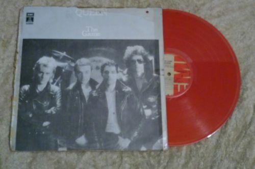 QUEEN the Game LP orange color vinyl press in colombia  Very rare UNIQUE piece