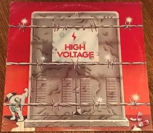 AC DC High Voltage MEGA RARE Australian ORIGINAL blue  roo  label LP 1975  ERROR