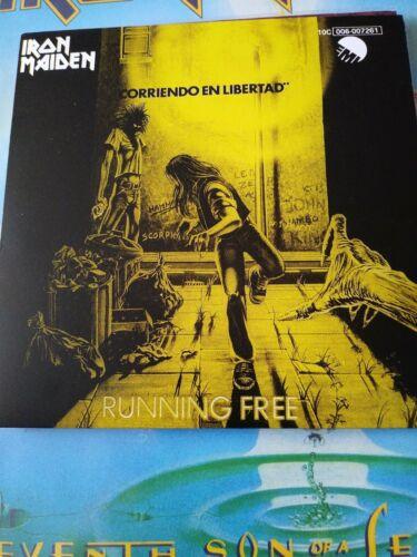 Iron Maiden Running Free 7 Inch Red Vinyl