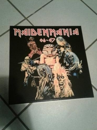 Iron Maiden boxset Maiden Mania Colored vinyl 12